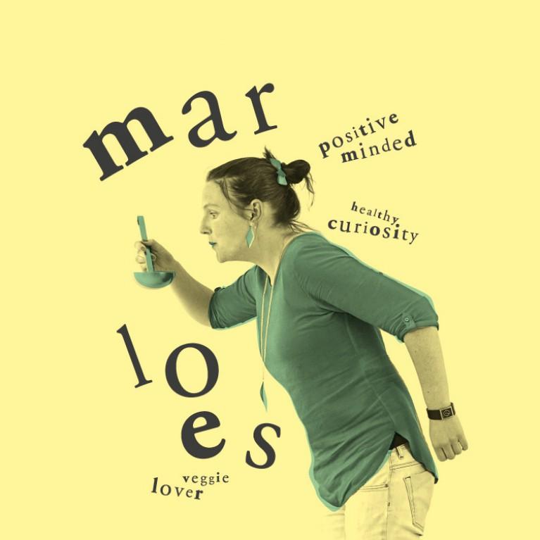 Marloes - Healthy curiosity, Veggie lover, Positive mind
