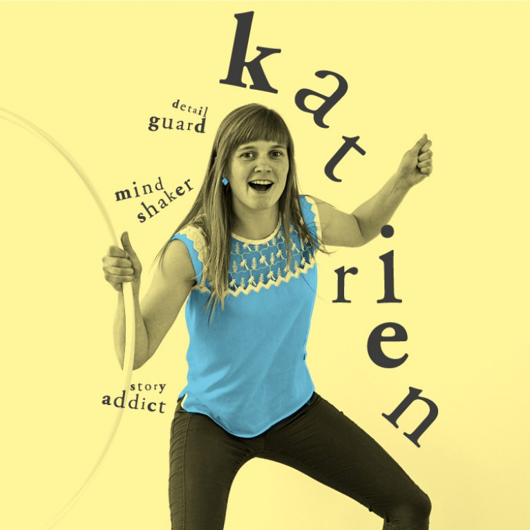 Katrien - Mindshaker, Detail Guard, Story Addicted