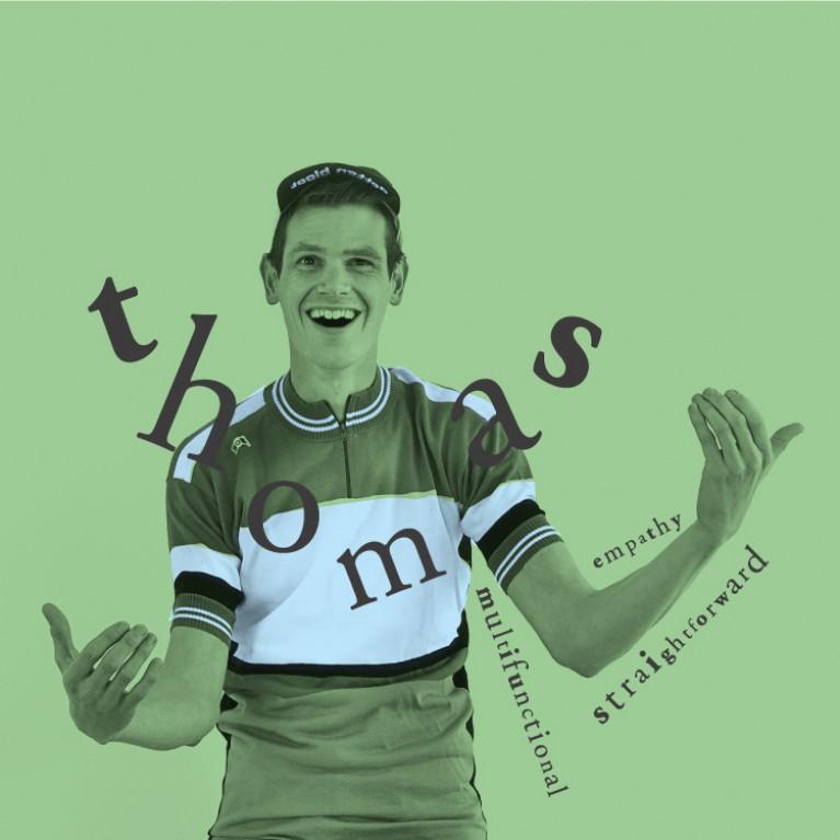 Thomas - Multifunctional, Straightforward, Football addict