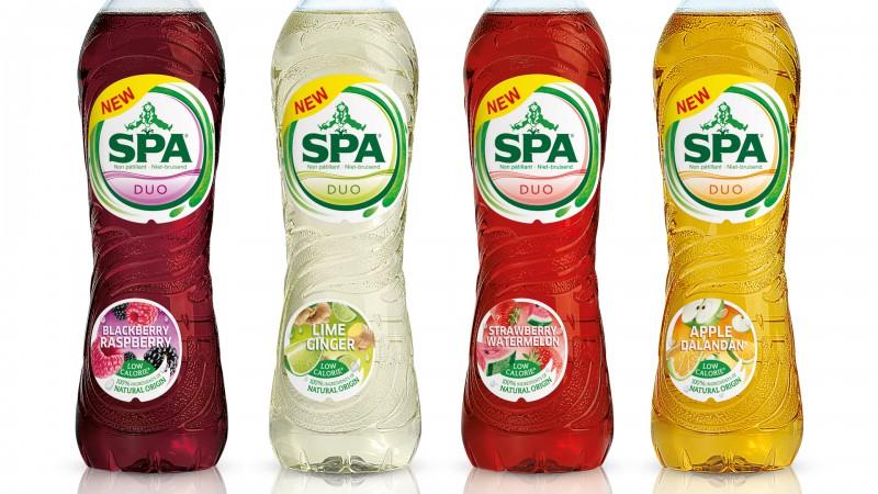 Quatre Mains package design - spa, lemonade, quatre mains