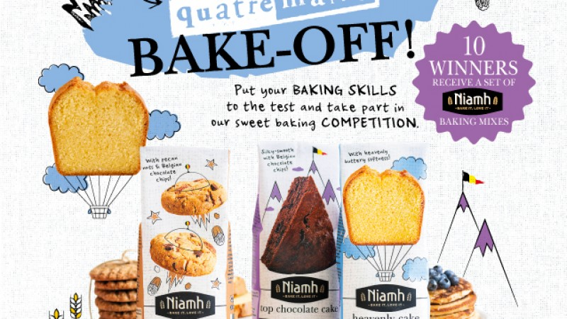 Quatre Mains package design - wedstrijd, competition, quatre mains, bake off
