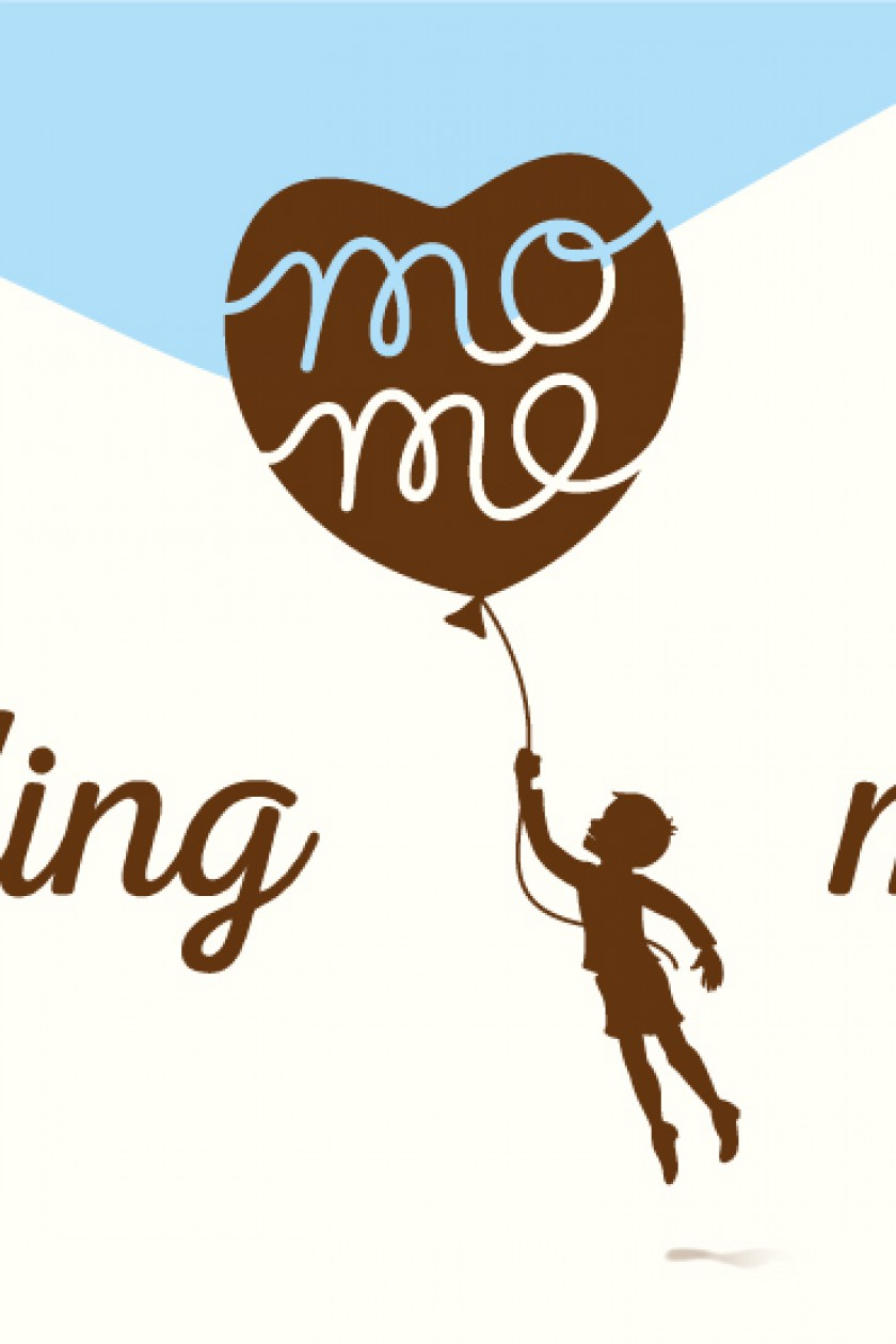 Quatre Mains package design - mome branding, restyling, child, memories, balloon