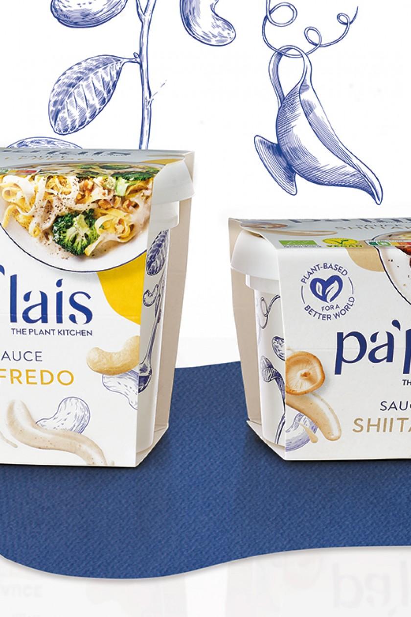 Quatre Mains package design - Pa'lais, vegan, quatre mains, branding, packaging