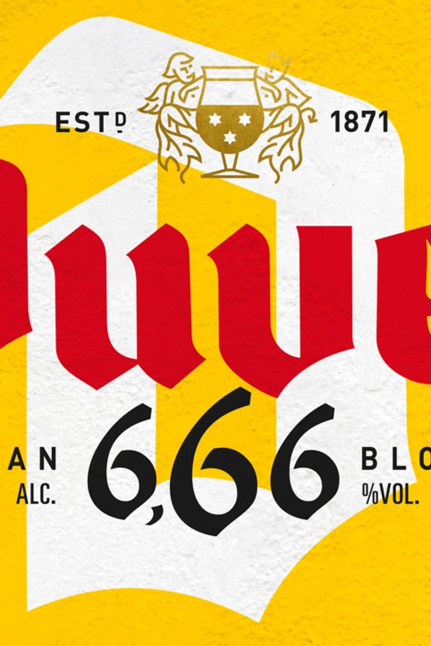 Quatre Mains package design - duvel, quatre mains, peek, 666