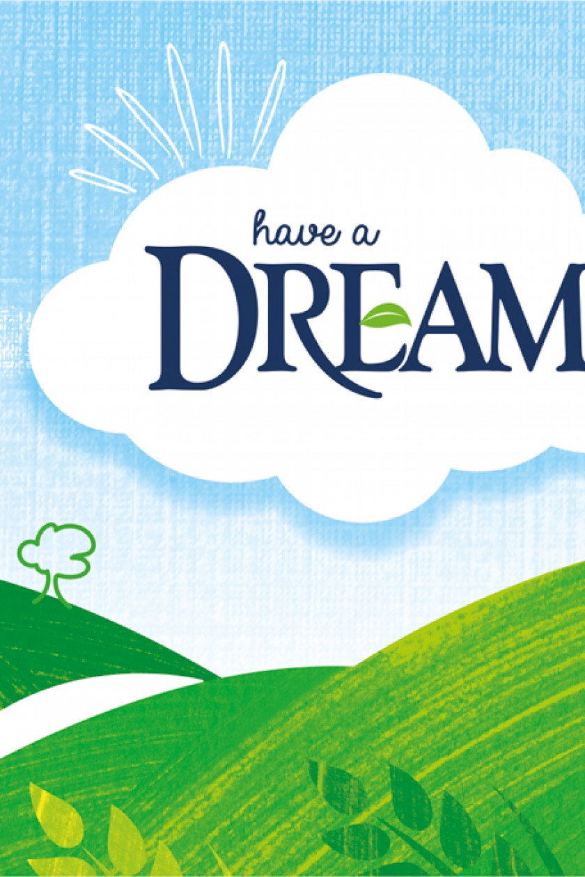 Quatre Mains package design - Dream, non dairy, Quatre Mains, redesign