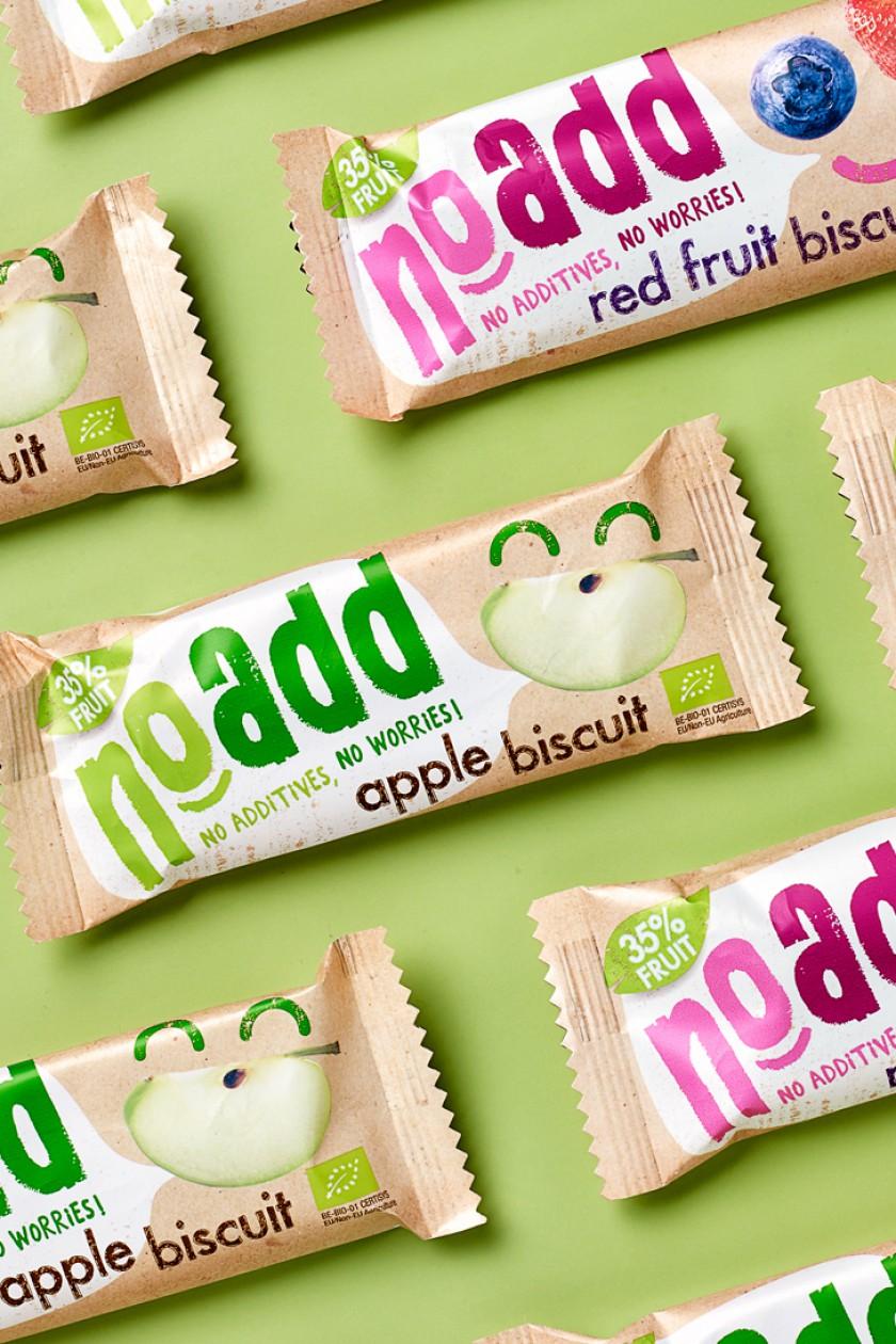 Quatre Mains package design - Package design NoAdd, fruti bar, vegan, quatre mains