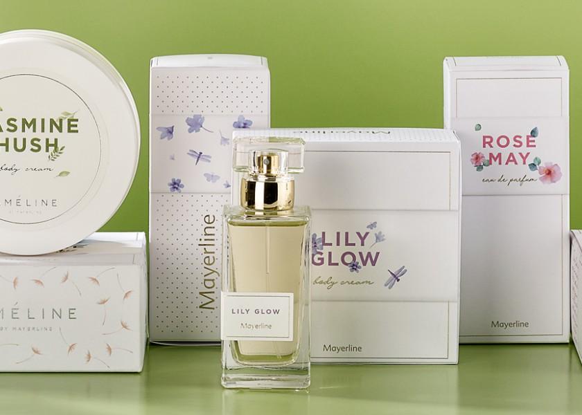 Quatre Mains package design - Package design mayerline, ameline, floral, packaging
