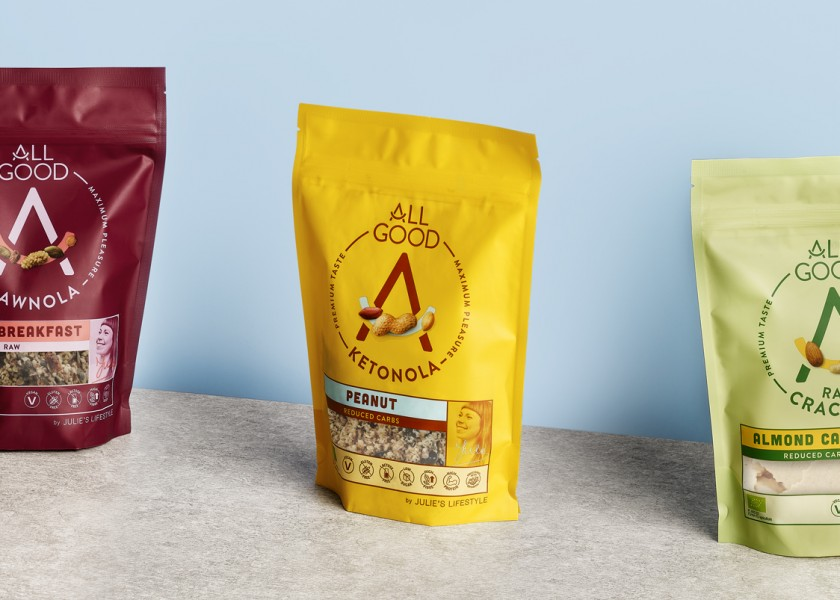 Quatre Mains package design - Package design all good, julies lifestyle, packaging