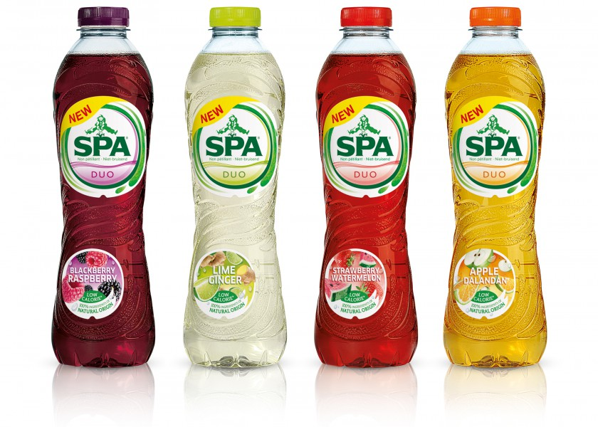 Quatre Mains package design - spa, lemonade, quatre mains