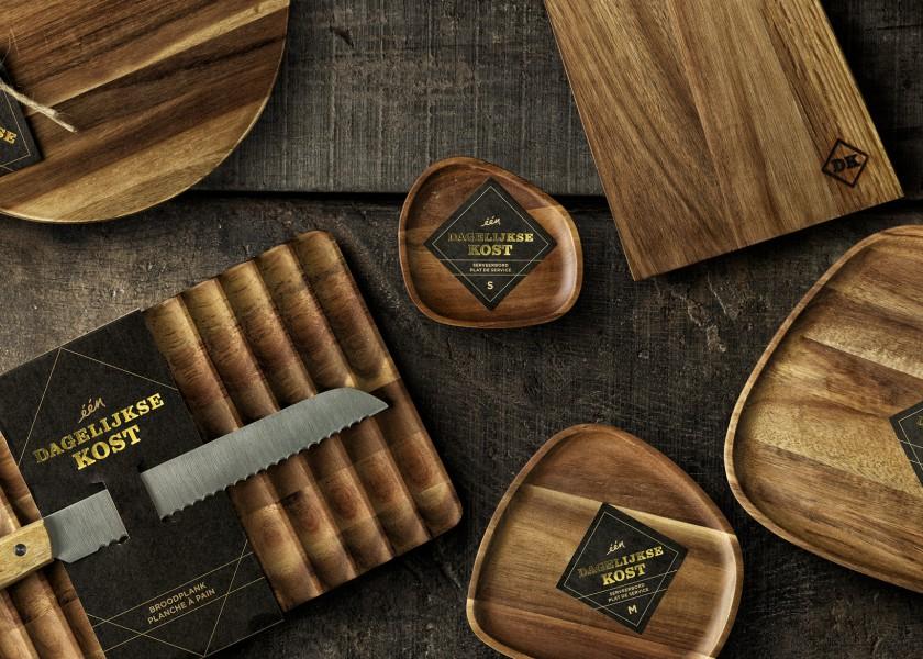 Quatre Mains package design - Package design Dagelijkse Kost Planken, Quatre Mains, Packaging, Branding