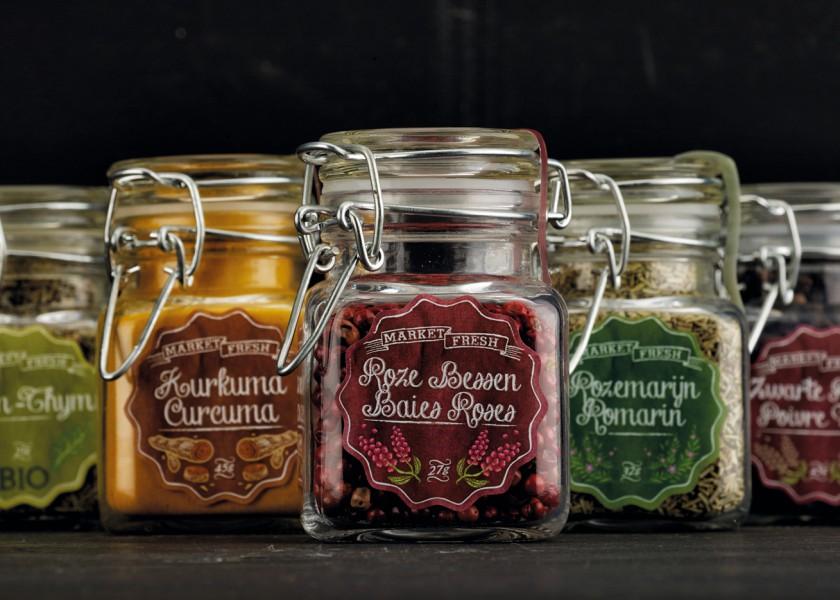 Quatre Mains package design - Package design euroma, market fresh, quatre mains