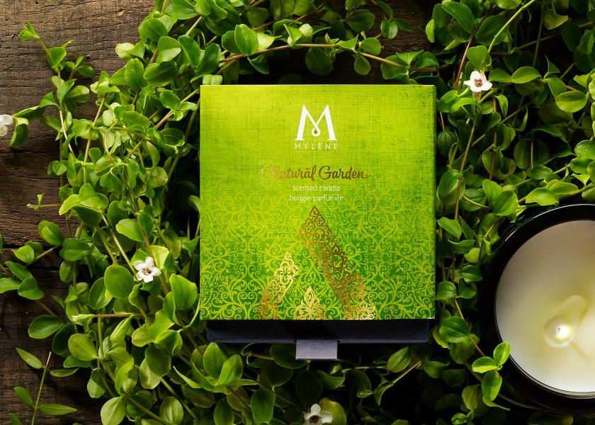 Quatre Mains package design - Package design Quatre Mains, Branding and Packaging, Mylène, secret garden
