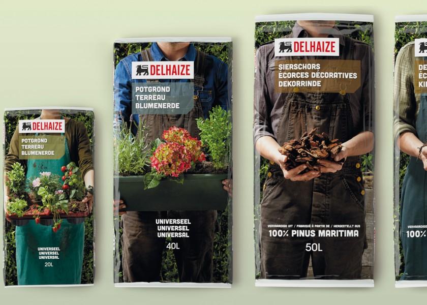 Quatre Mains package design - Package design delhaize, potgrond, quatre mains