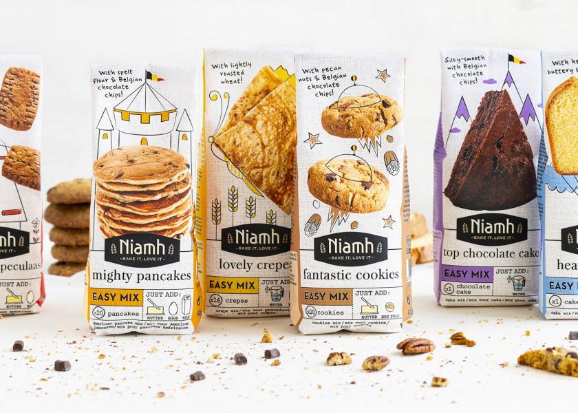 Quatre Mains package design - Package design sweet range, baking, niamh, quatre mains